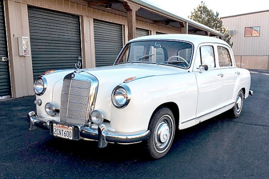 Vintage Mercedes Donated To Habitat